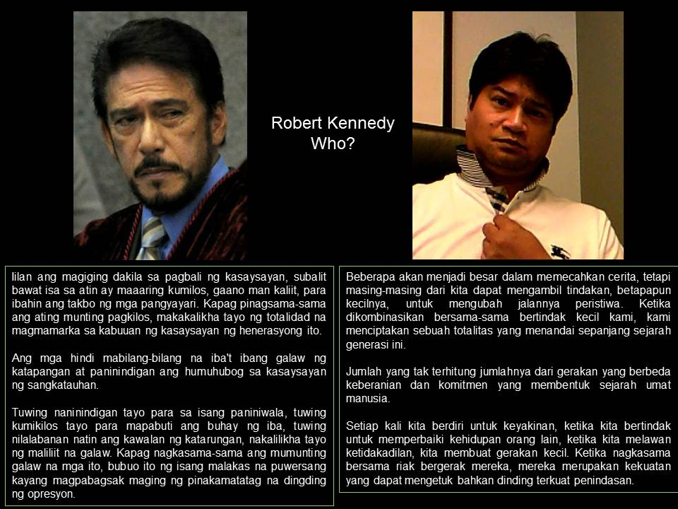 Tito Sotto Did Not Plagiarize Kennedy