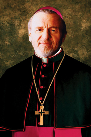 The original Jean Valjean, Colm Wilkinson as Bishop of Digne