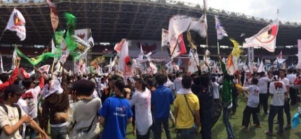 prabowo campaign rally